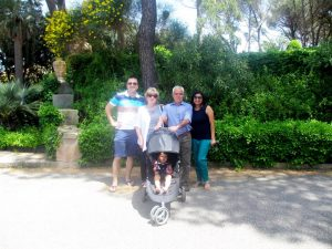 With my Italian Family in Sicily
