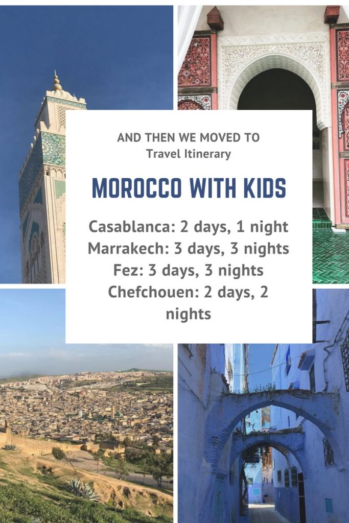 Family travel with kids to Morocco